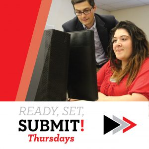 Ready, Set, Submit Thursdays @ Mitchell College, Henry Hall