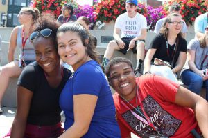 New London Welcomes First Year Students