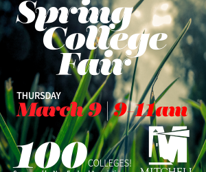 Spring College Fair Coming to Mitchell on March 9