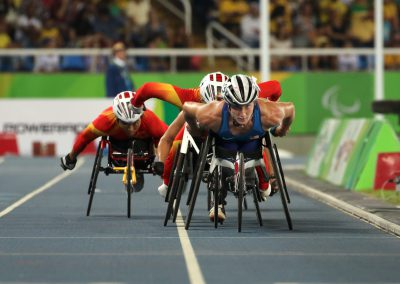 Tatyana McFadden in the Women's 800m T54