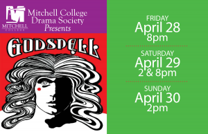 Godspell On Stage at Mitchell