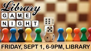 Library Game Night @ Library