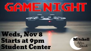 "MAD: ""Drunken"" Game Night @ Mariner Residence Hall"