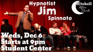 Mitchell After Dark: Hypnotist Jim Spinnato @ Student Center
