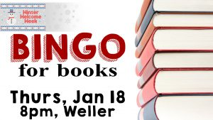 Winter Welcome Week: Bingo for Books @ Weller