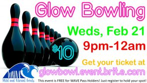 GLOW Bowling @ Off Campus