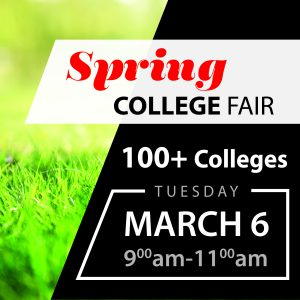 Spring College Fair @ Yarnall Gym