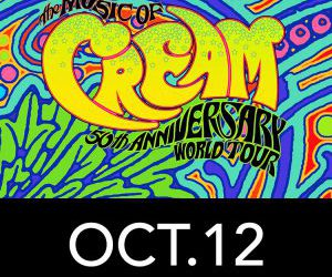 Mitchell College Fundraiser at the Garde Arts Center to Celebrate CREAM's 50th Anniversary Concert