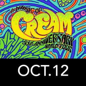 Mitchell College Fundraiser at The Garde Arts Center to Celebrate CREAM's 50th Anniversary Concert @ The Garde Arts Center