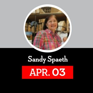 Speakers Series: Sandy Spaeth @ The Red Barn at Mitchell College