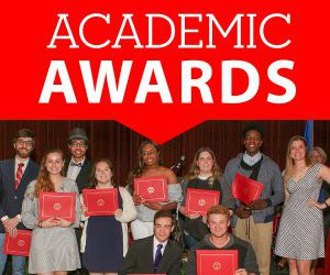 Academic and Student Affairs Awards Ceremony