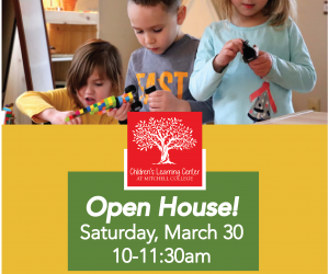 Open House at the Children's Learning Center