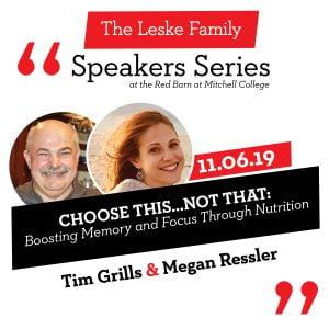 Speaker Series Nov 6, 7:00-8:30