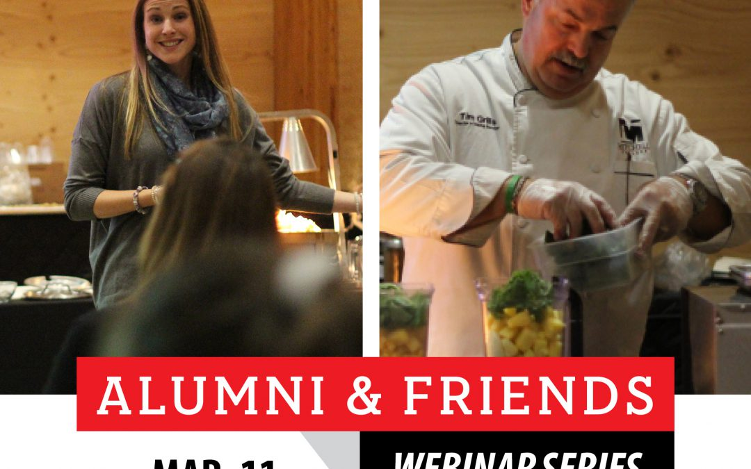 New Alumni & Friends Webinar: Soup and Self-Care: Practical Tips on Feeding your Mind and Body